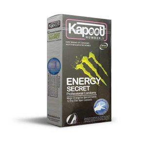 کاندوم انرژی زا و نازک کاپوت ۱۲ تایی