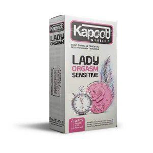 کاندوم تحریک کننده خانمها و ارگاسم کاپوت ۱۲ تایی