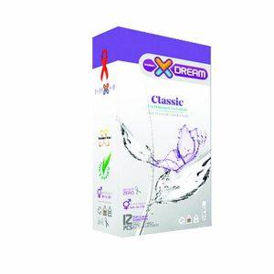 کاندوم ساده کلاسیک ایکس دریم ۱۲ تایی
