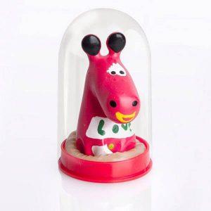 کاندوم عروسکی الاغ قرمز فانتزی ۱ عددی