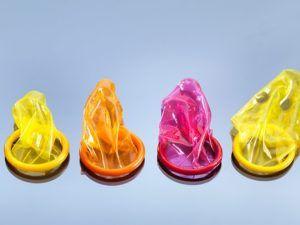 انواع کاندوم رنگی