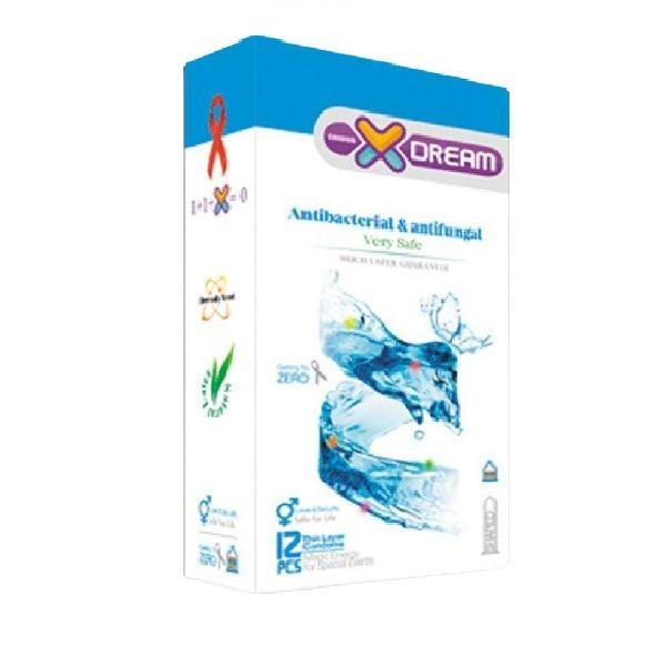 کاندوم آنتی باکتریال و ضد قارچ ایکس دریم ۱۲ تایی
