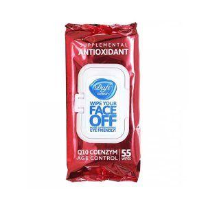 دستمال مرطوب پاک کننده آرایشی دافی آنتی اکسیدان